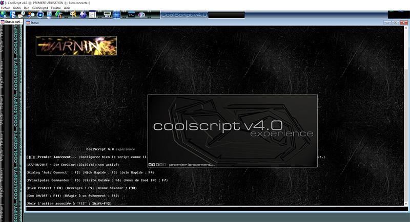 CoolScript v4.0, par Tititor et moi-même - 2002-2003