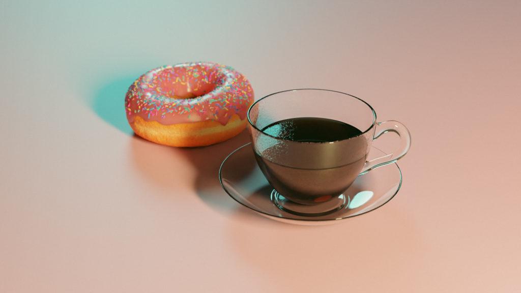 Donut et Café