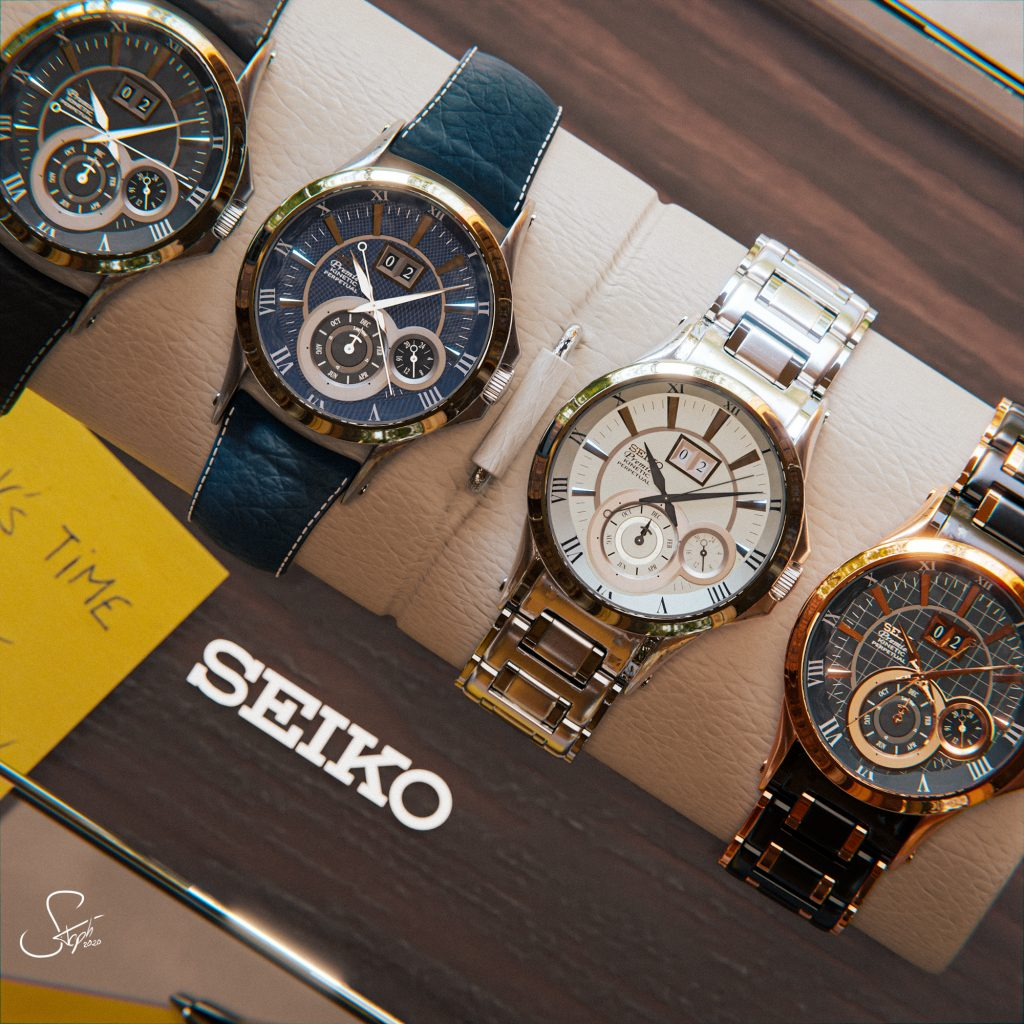 Seiko – It's Time !