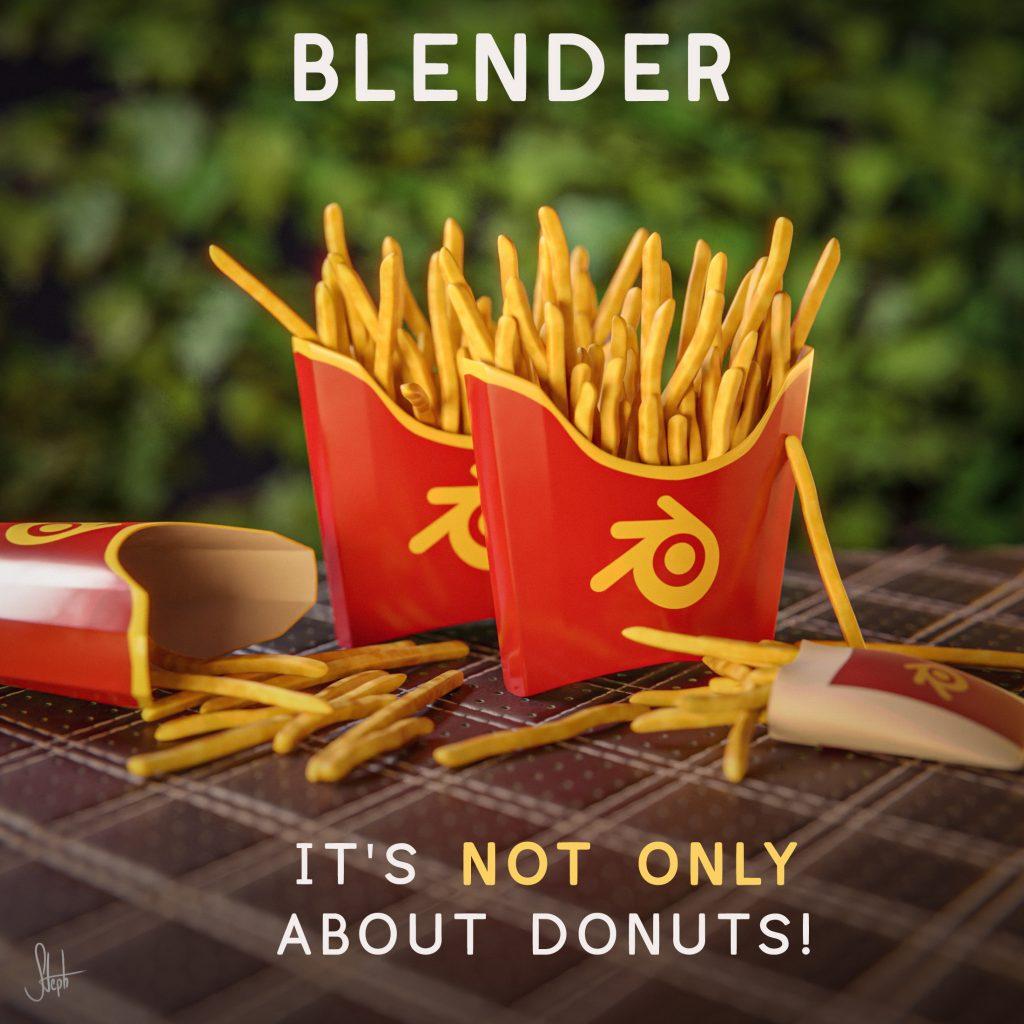 Blender Fries