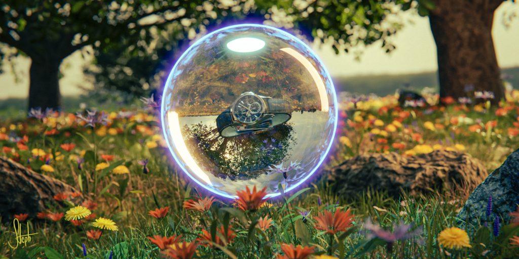 Bubble in nature